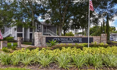 Community Signage, Colonial Pointe Apartments, 2