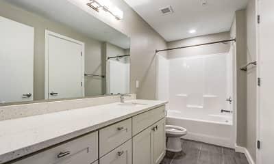 Bathroom, Smallman Flats, 2