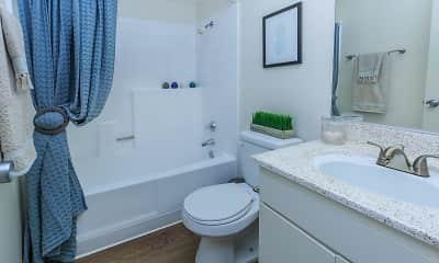 Bathroom, Upland Village Green, 2