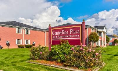 Community Signage, Centerline Plaza Apartments, 0