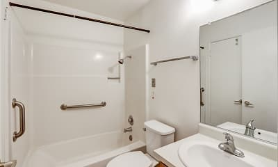 Bathroom, Valley Oaks, 2