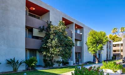 Building, Mojave Blue, 1