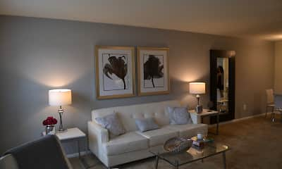 Living Room, Korman Residential At Cherrywood, 2