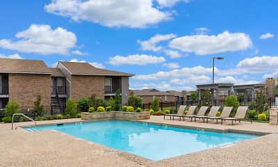 Pool, RedRock Apartments, 1