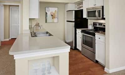 Kitchen, Camden Oak Crest, 1