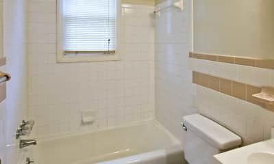 Bathroom, The Columns Apartments, 2