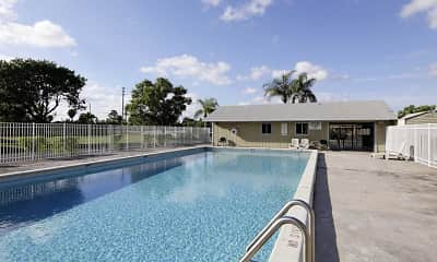 Pool, Newton Woods & Colony Oaks Apartments, 0