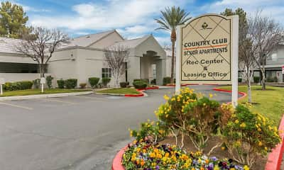 Community Signage, Country Club at the Meadows 55+, 0