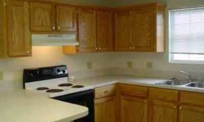 Kitchen, Crystal Lake Apartments, 2
