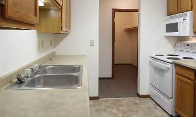 Kitchen, Washington Heights Apartments, 0