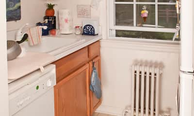 Kitchen, Garfield Park Apartments, 1