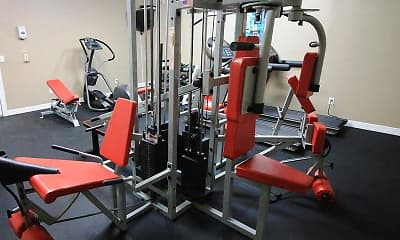 Fitness Weight Room, Estates of Coppell, 2