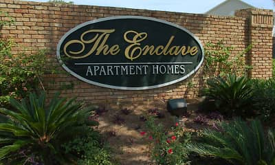 Community Signage, The Enclave, 1