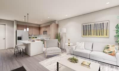 Living Room, Alexan Scottsdale, 1