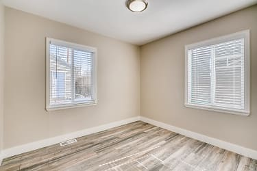 First bedroom and windows