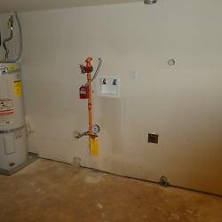 washer/dryer hook-up in garage