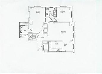 Two Bedroom Floorplan B