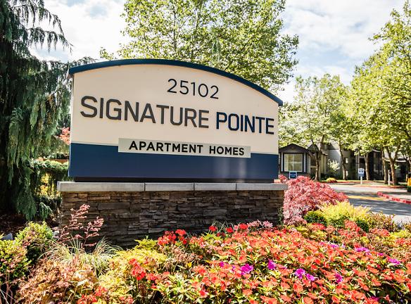 Kent Apartments - Signature Pointe Apartment Homes - Sign