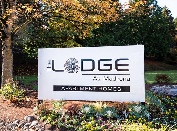 Tacoma Apartments - The Lodge at Madrona Apartments - Sign