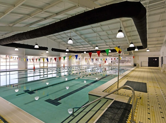 Indoor Olympic Size Lap Pool