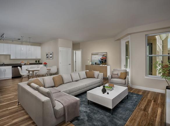 1 Bedroom living room/kitchen