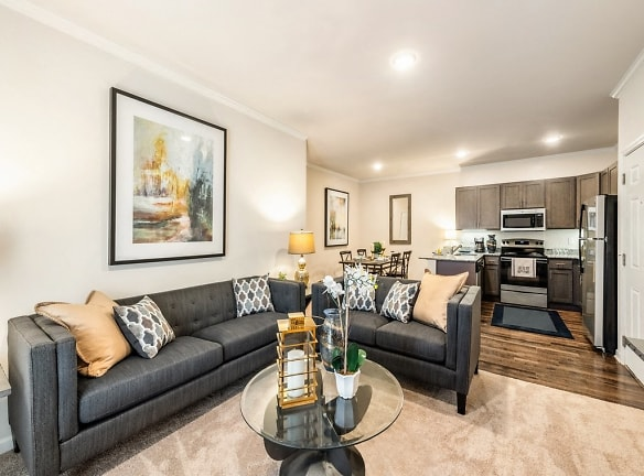 Living Area with Open Concept View
