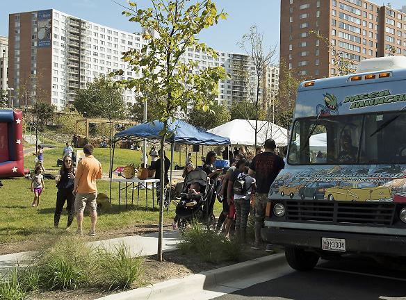 Food Trucks at Fall Festival