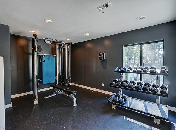 Fitness Center at Southgate Apartments in Greenville, NC