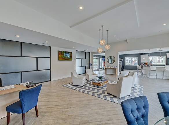 Luxurious Clubhouse at The Madison Apartments