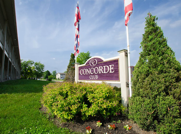 Concorde Club Apartments in Romulus MI