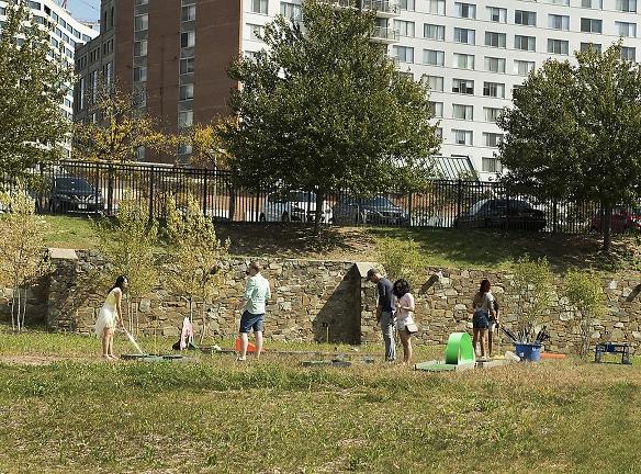 Yard Games at Fall Festival