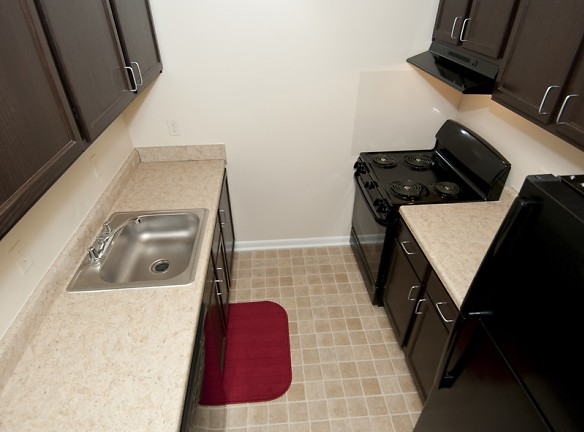 Remodeled Apartment Kitchen