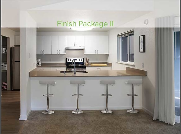 Finish Package II kitchen and dining area