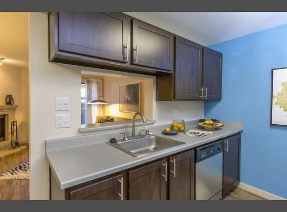 Fully-Equipped Open Kitchen