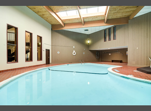 Large Indoor Pool with Natural Light