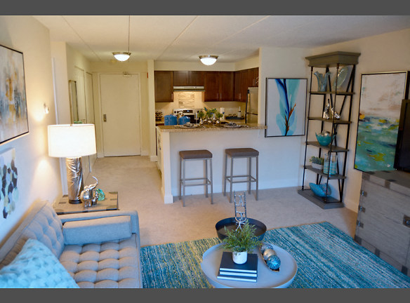 Our Newly Furnished and Renovated Two Bedroom Model Shows you What Calling Faxon Commons Home will Look Like!