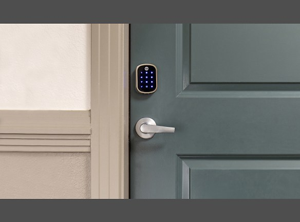 Let in friends, family or a dog walker remotely, with peace of mind! Smart home tech available in every home!