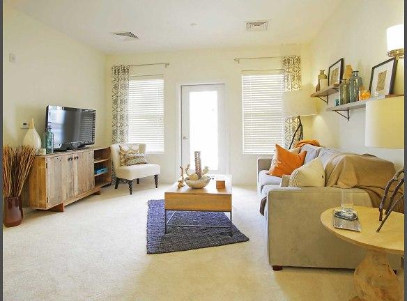 Living room in 2 bedroom Cambridge layout