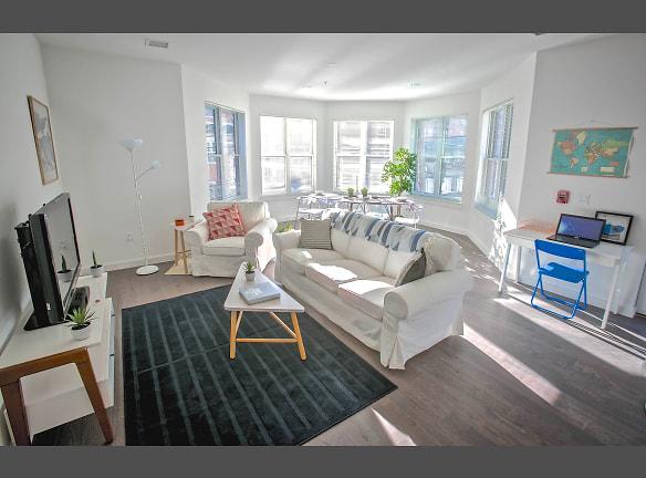 Corner Apartment Living Room