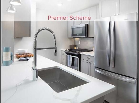 Premier Scheme Kitchen with Whirlpool Stainless Steel Appliances