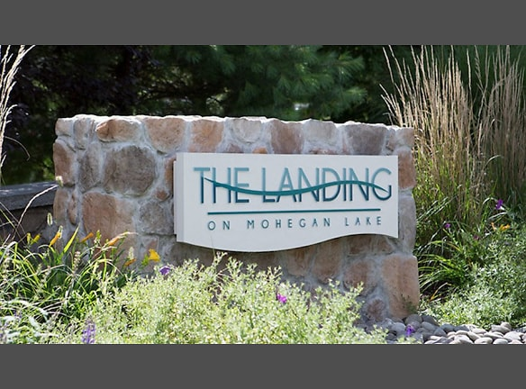 Entry to The Landing on Mohegan Lake by GDC