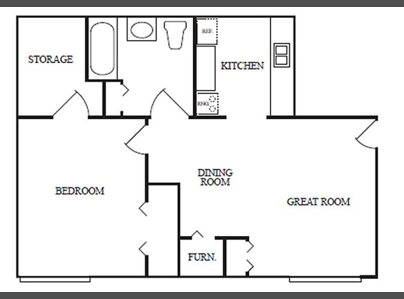 Aragona Wash Place One Bedroom a