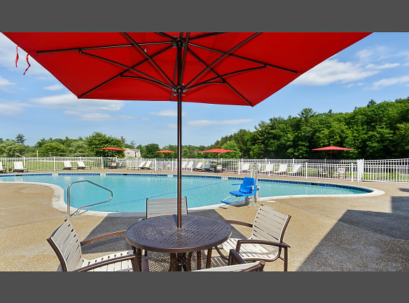 Swim in the resort-style pool or relax on the sun deck