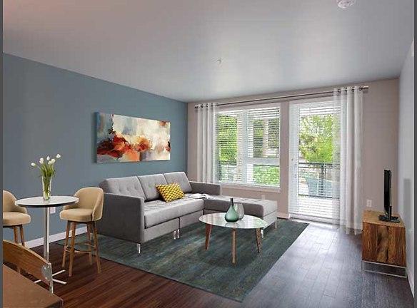 Living Area - Sleek Style (One Bedroom)