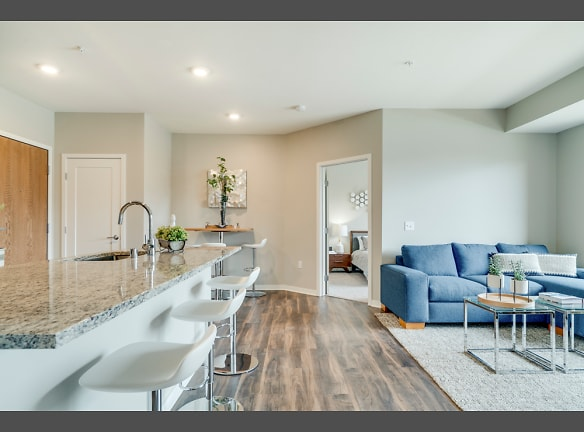 Our apartments feature hardwood-style floors and upscale finishes.