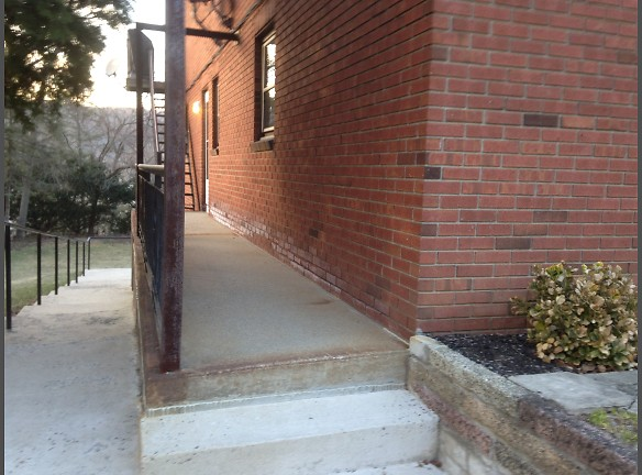 private side entrance