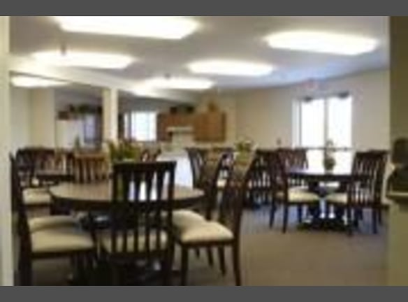 Our community room will be home to many resident activities and events!