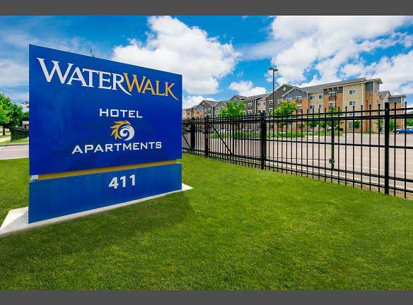 Welcome sign of WaterWalk Wichita