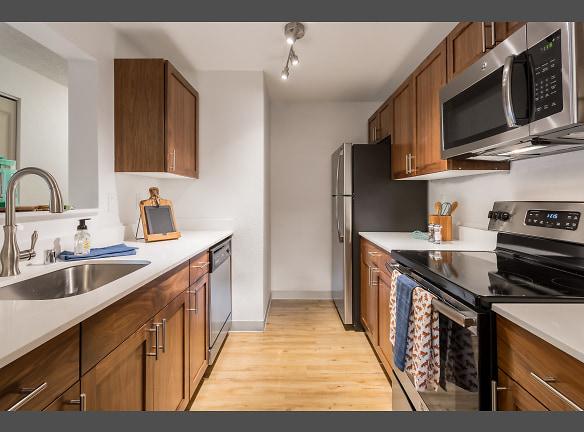 Beautiful quartz countertops. Artesia Apartments Everett, WA