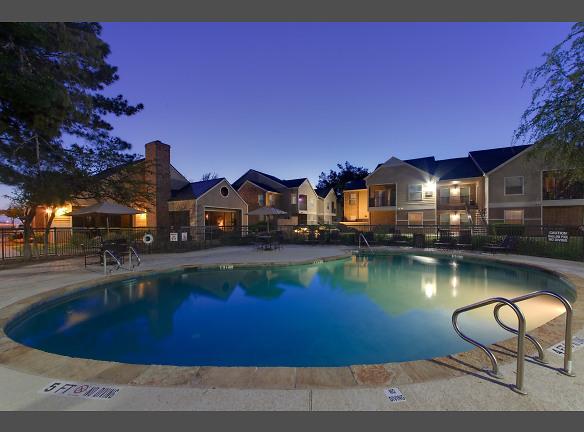 night pool